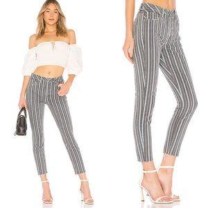 GRLFRND Karolina High Rise Jeans Taffy Stripe New